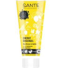 Sante Duschgel Energy Bio-Zitrone & Quitte, 200 ml Tube