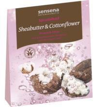 sensena naturkosmetik Sprudelbad Sheabutter & Cottonflower, 80 gr Stück