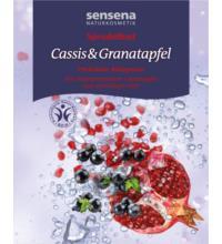 sensena naturkosmetik Sprudelbad Cassis & Granatapfel, 80 gr Stück