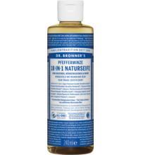 Dr. Bronners Naturseife Pfefferminz, 236 ml Flasche