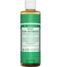 Dr. Bronners Naturseife Mandel, 236 ml Flasche