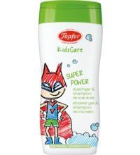 Töpfer Duschgel & Shampoo für kleine Helden, 200 ml Flasche