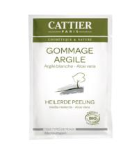 Cattier Weiße Heilerde Peeling Sachet, 12,5 ml Stück