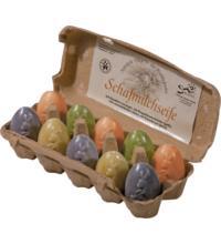 Saling Schafmilchseife Osterei, 60 gr Stück