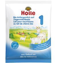 Holle Bio-Anfangsmilch 1 auf Ziegemilchbasis 1, 20 gr Packung