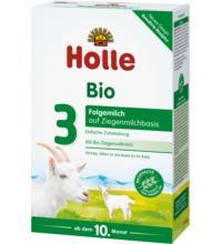 Holle Bio-Folgemilch auf Ziegenmilchbasis 3, 400 gr Packung