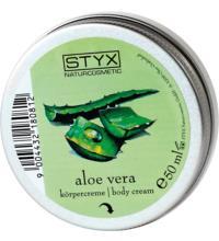 Styx Naturcosmetics Aloe Vera Körpercreme Kleingröße, 50 ml Tiegel