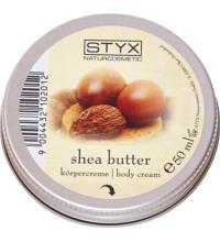 Styx Naturcosmetics Sheabutter Körpercreme Kleingröße, 50 ml Tiegel