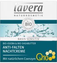 lavera basis sensitiv Anti-Falten Nachtcreme Q10, 50 ml Tiegel