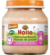 Holle Hühnchenfleisch, 125 gr Glas