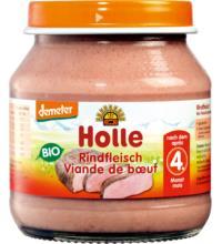 Holle Rindfleisch, 125 gr Glas