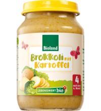 Lebenswert bio Brokkoli mit Kartoffel, 190 gr Glas