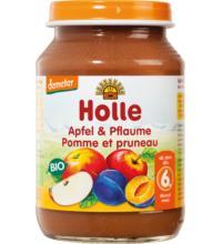 Holle Apfel & Pflaume, 190 gr Glas