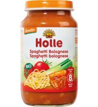 Holle Spaghetti Bolognese, 220 gr Glas