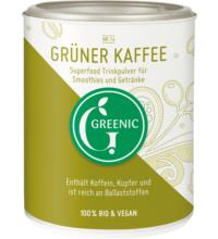 Greenic Grüner Kaffee Pulver, 100 gr Dose