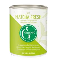 Greenic Matcha Fresh Superfood Trinkpulver, 80 gr Dose