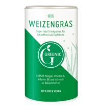 Greenic Weizengras Pulver, 100 gr Dose