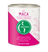 Greenic Maca Pulver, 100 gr Dose