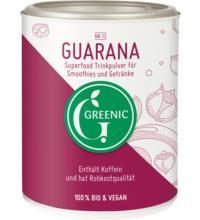 Greenic Guarana Pulver, 100 gr Dose