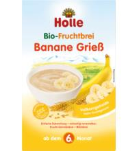 Holle Fruchtbrei Banane Griess, 250 gr Packung