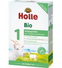 Holle Bio-Anfangsmilch auf Ziegenmilchbasis 1, 400 gr Packung