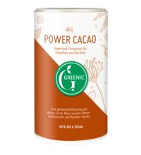 Greenic  Power Cacao Superfood Trinkpulver, 175 gr Dose