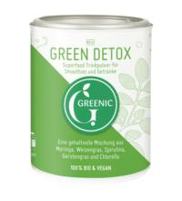 Greenic Green Detox Superfood Trinkpulver, 90 gr Dose