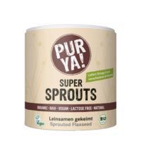 Purya! Super Sprouts Leinsamen gekeimt, 200 gr Dose