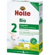 Holle Bio-Folgemilch auf Ziegenmilchbasis 2, 400 gr Packung
