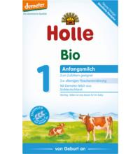Holle Bio-Anfangsmilch 1, 400 gr Packung