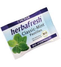 Hoyer herbafresh Classic-Mint, Atemfrisch-Pastillen, 17 gr Packung