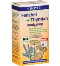 Hoyer Fenchel & Thymian Honigsirup, 250 gr Spender