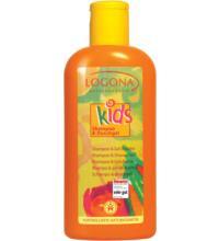 Logona Kids Shampoo & Duschgel, 200 ml Flasche