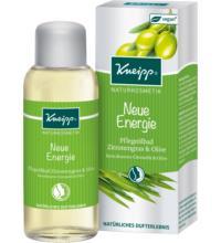 Kneipp Pflegeölbad Neue Energie, Zitronengras & Olive 100 ml Flasche