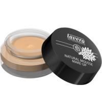 lavera Natural Mousse Make-up Honey 03, 15 ml Tiegel