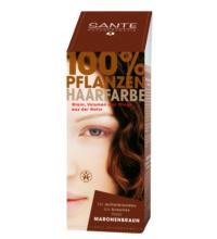 Sante Haarfarbe maronenbraun, 100 gr Packung