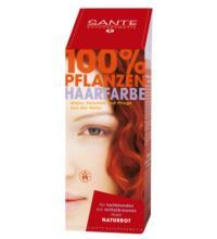 Sante Haarfarbe naturrot, 100 gr Packung