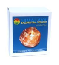 Bioenergie Salzkristall-Teelicht, 1 Stück