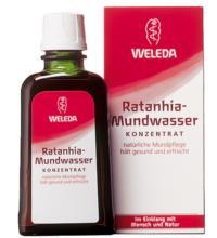 Weleda Ratanhia-Mundwasser, 50 ml Flasche