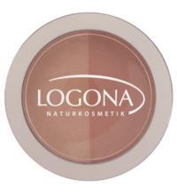 Logona Rouge Duo Blush no. 03, beige & terracotta, 10 gr Dose
