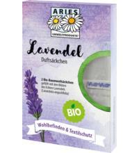 Aries Bio Lavendel Duftsäckchen, 2 St Packung
