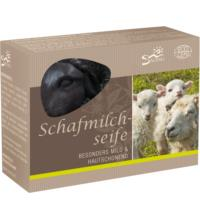 Saling Schafmilchseife Schaf schwarz in Faltschachtel, 85 gr Stück