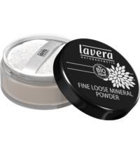lavera Fine Loose Mineral Powder Transparent, 8 gr Dose