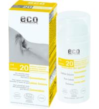 eco cosmetics Sonnenlotion LSF20, 100 ml Tube