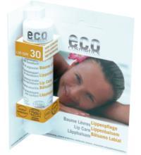 eco cosmetics Lippenpflege LSF30, 4 gr Stück