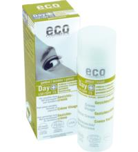 eco cosmetics Day+ Gesichtscreme LSF15 getönt, 50 ml Spender
