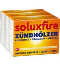 soluxfire Zündhölzer, 3 St Packung