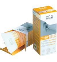 eco cosmetics Sonnencreme LSF 50+ leicht getönt, 75 ml Tube