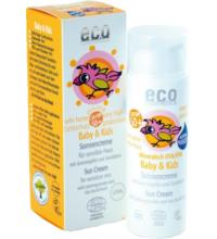 eco cosmetics Baby & Kids Sonnencreme LSF 50+, 50 ml Tube