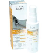 eco cosmetics Sonnenöl LSF 30 transparent, 50 ml Sprayflasche